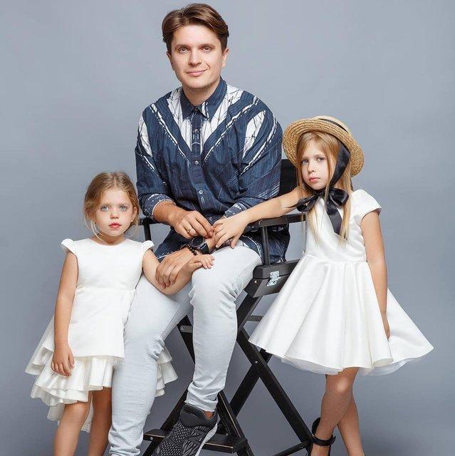 Анатолий Анатолич с дочками - фото - фото 84368