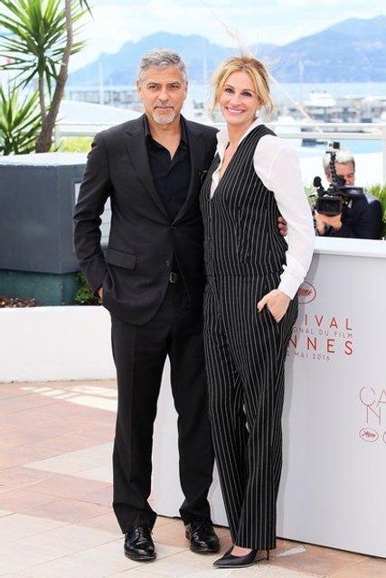 Джулия Робертс И Джордж Клуни - фото 85623