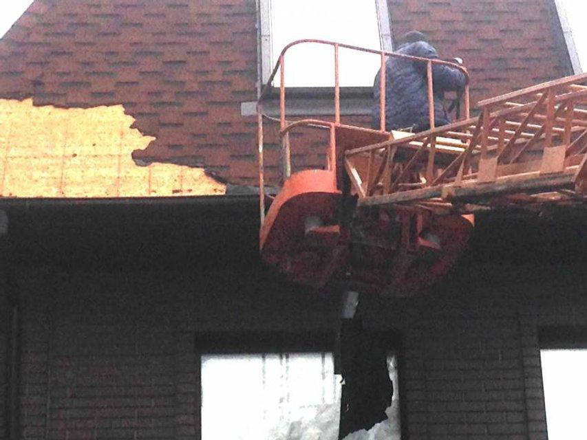 Демонтаж на ул. Бойчука, 37б - фото 81465