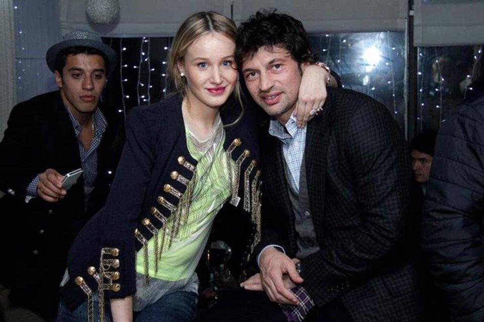Фото Каха Каладзе с женой Ануки Арешидзе - фото 83537