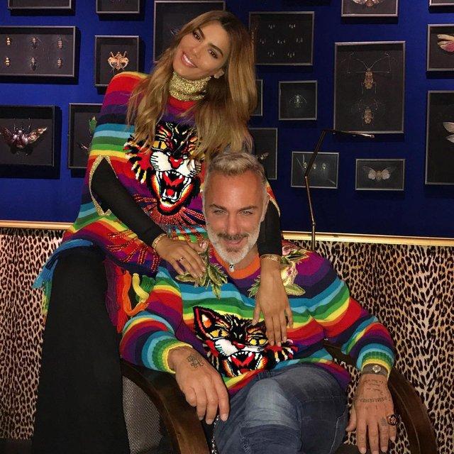 Ариадна Гутьеррес и Джанлука Вакки - фото - фото 86338
