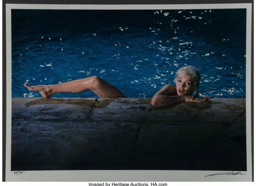 Откровенные фото Мэрилин Монро продадут на аукционе за $35 тысяч - фото 79417