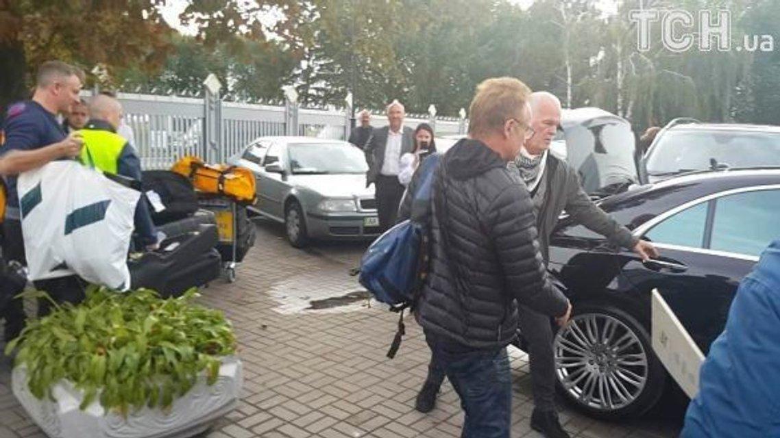 Легендарный Стинг прилетел в Украину: фото - фото 79278