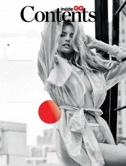 Супермодель Марта Хан топлес появилась на станицах модного глянца - фото 85044