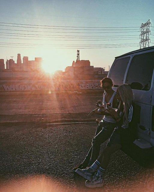 Алина Гросу попала в перестрелку в США - фото 82885