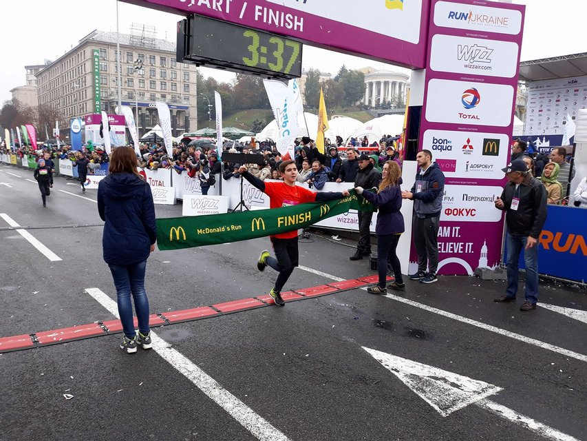 Фото с Wizz Air Kyiv City Marathon - фото 79788