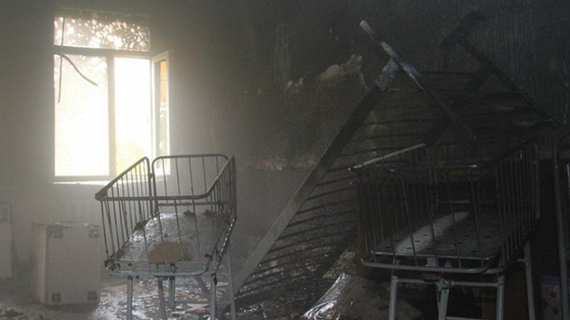 Во время пожара никто не пострадал  - фото 81588