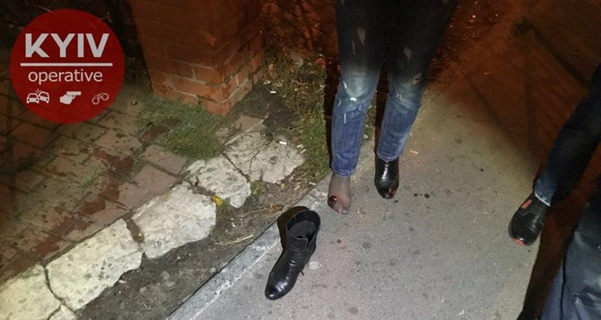 Стрельба в Киеве: мужчина выстрелил женщине в ногу - фото 79766