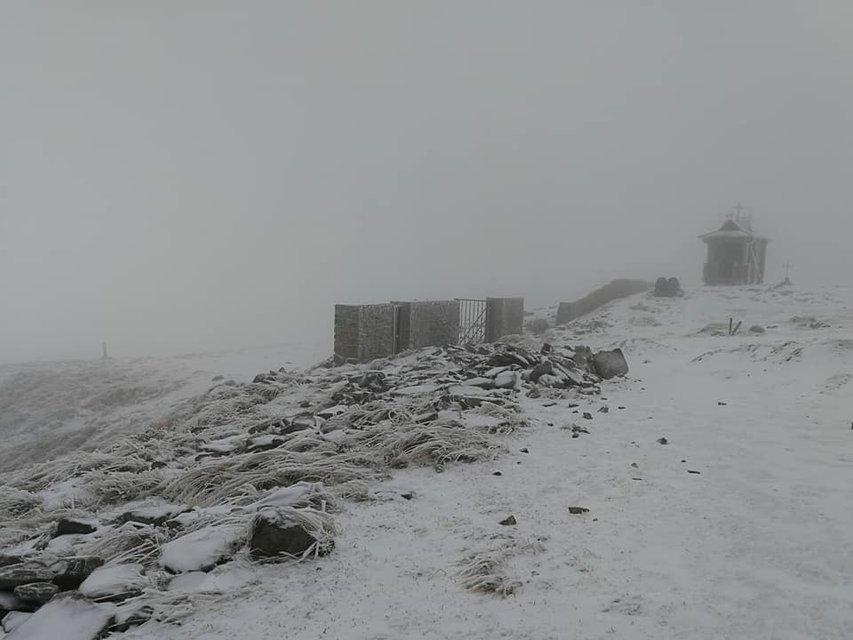 В Карпатах выпал первый снег (фото) - фото 80116