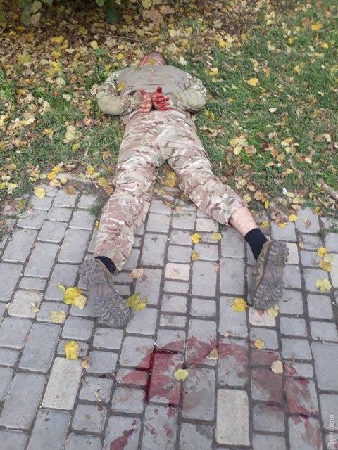 Пьяные экс-бойцы АТО устроили драку в Одессе - фото 81129