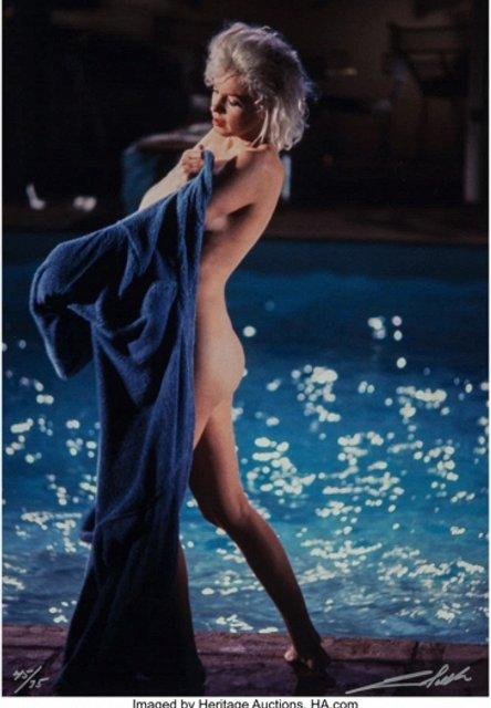 Откровенные фото Мэрилин Монро продадут на аукционе за $35 тысяч - фото 79421
