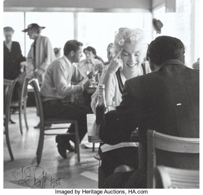 Откровенные фото Мэрилин Монро продадут на аукционе за $35 тысяч - фото 79423