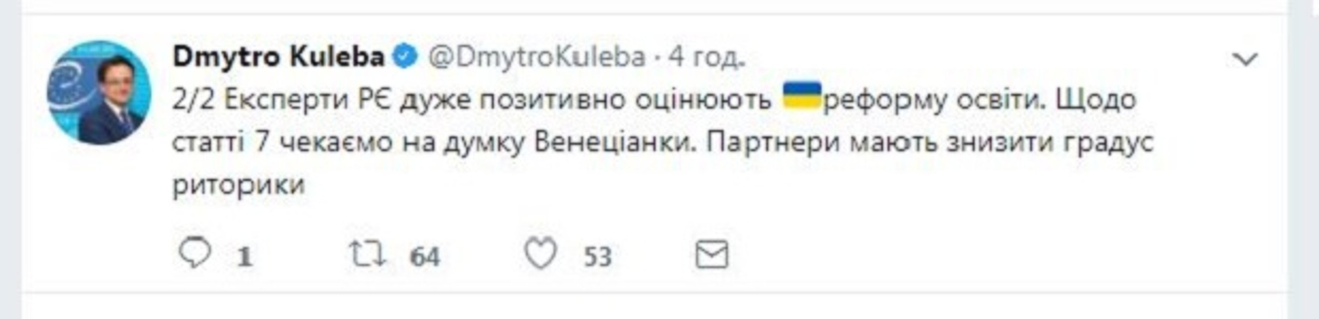 Совету Европы понравился украинский закон об образовании - фото 79510