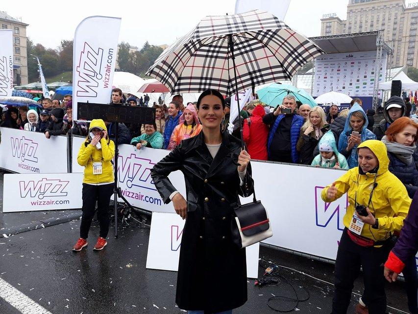 Маша Ефросинина на Wizz Air Kyiv City Marathon - фото 79787