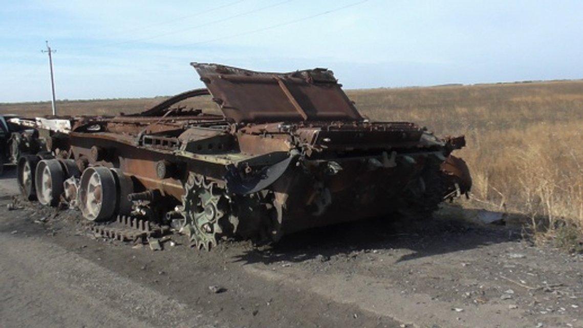 Российский танк в Украине - фото 84434