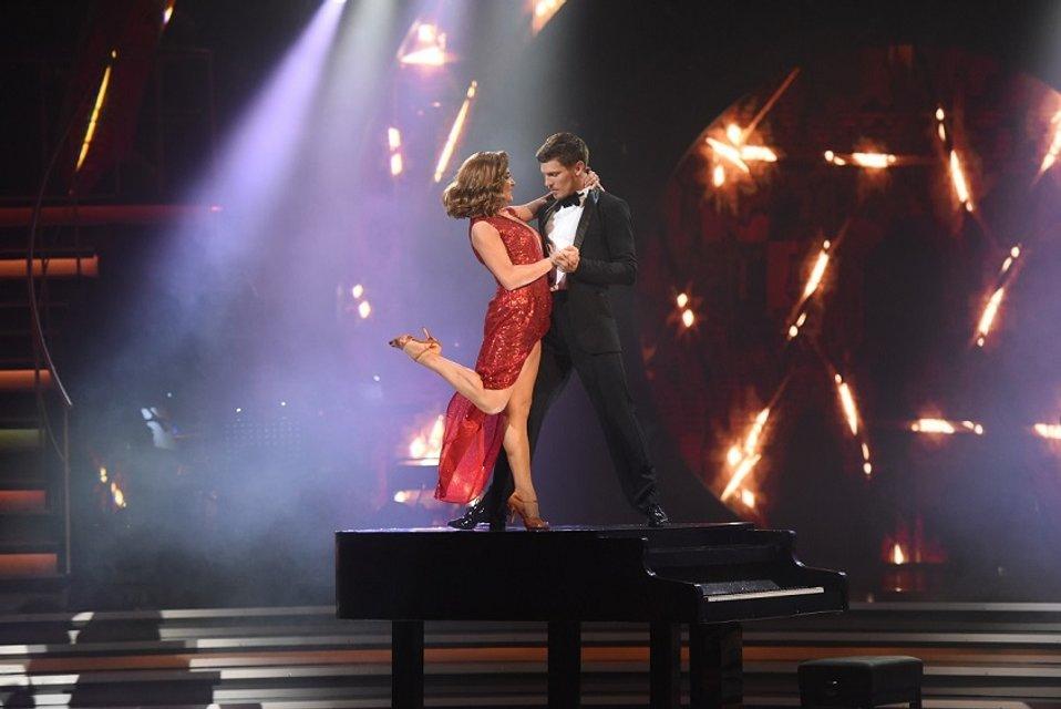 Финал Танцівз зірками 2017 - Наталья Могилевская и Игорь Кузьменко - фото 85296
