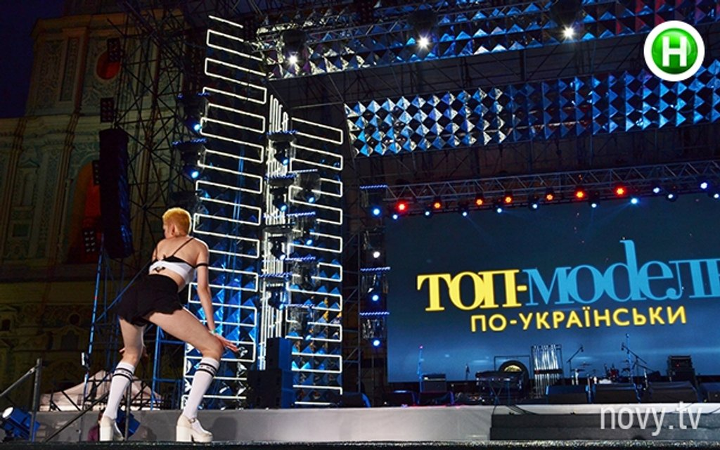 Топ-модель по-украински 4 сезон 9 выпуск Маша Шевченко танцует тверк - фото 85517
