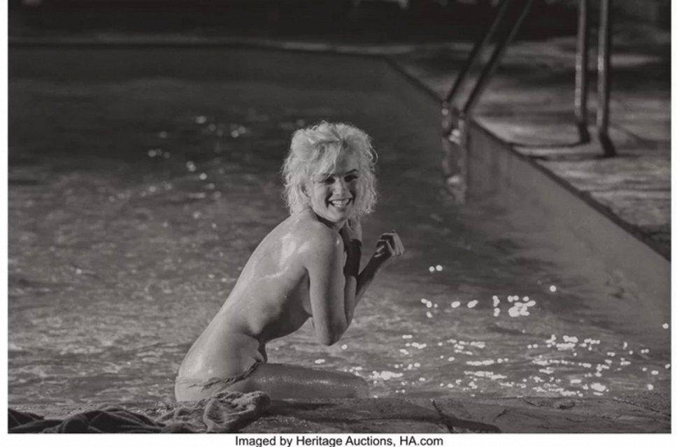 Откровенные фото Мэрилин Монро продадут на аукционе за $35 тысяч - фото 79418