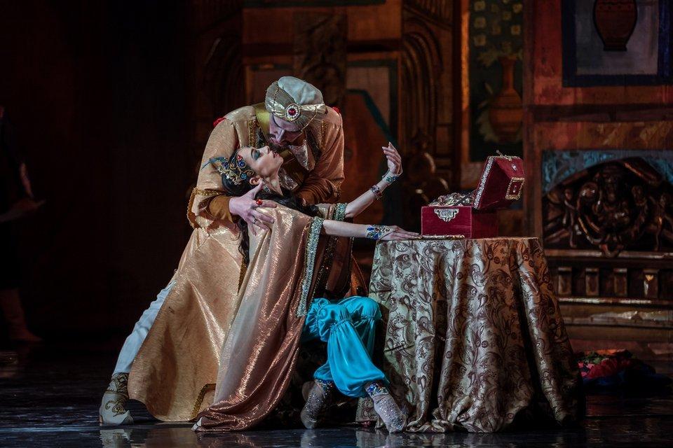 Екатерина Кухар в постановке