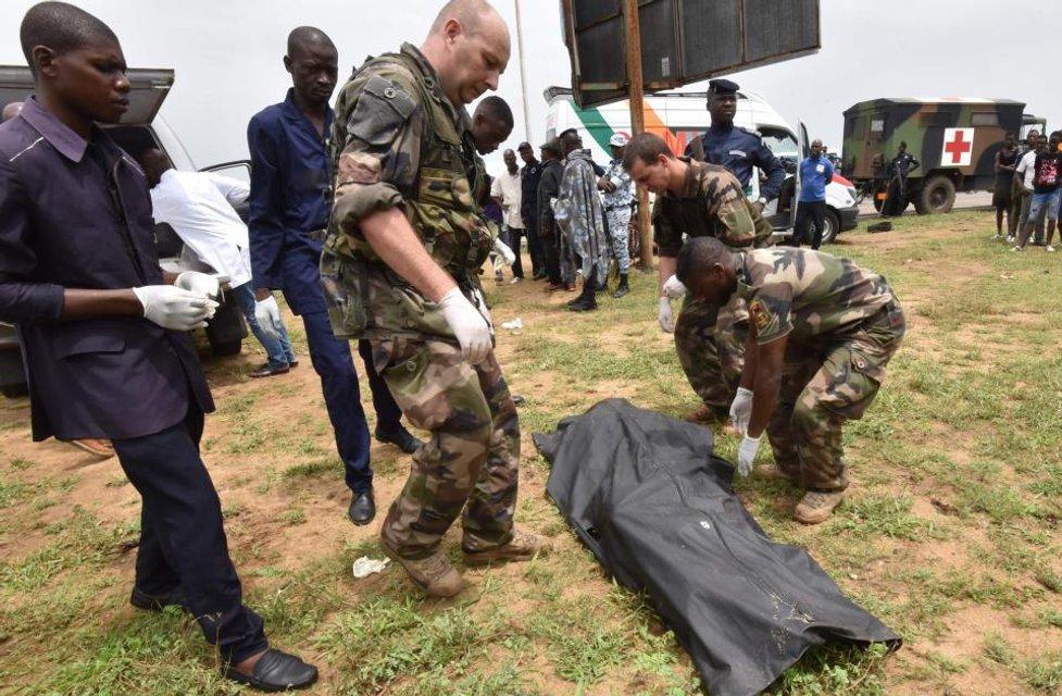Авиакатастрофа возле берегов Африки - фото 81658