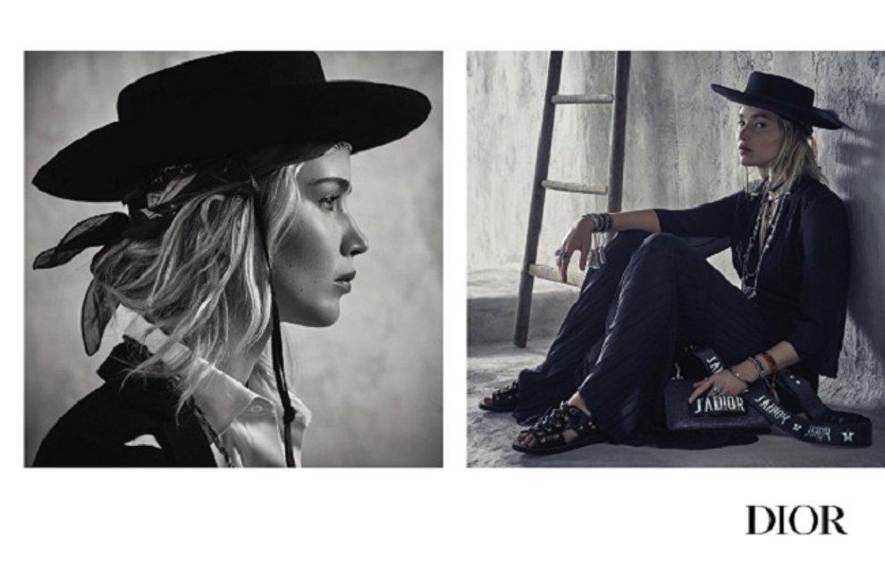 Дженнифер Лоуренс стала ковбойшей на Диком Западе - фото 78943