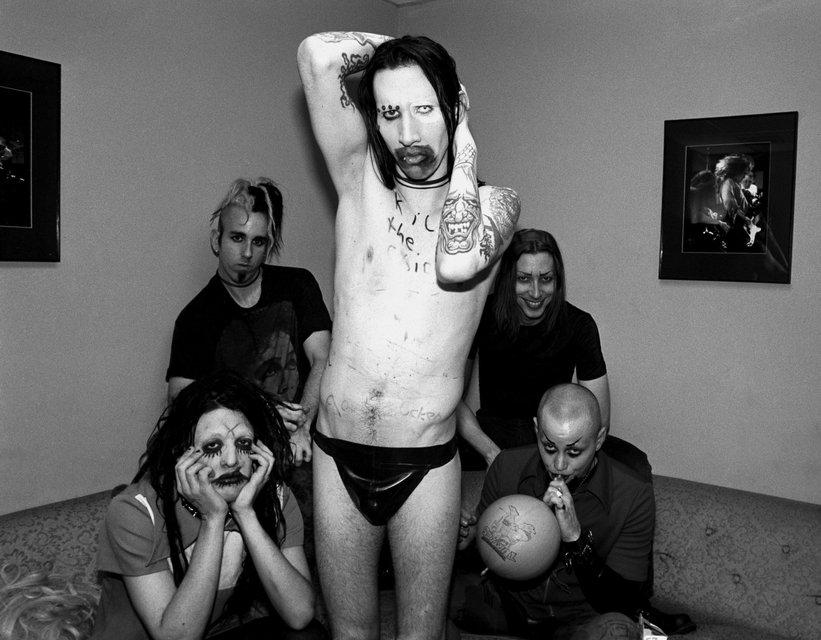 Умер один из основателей группы Marylin Manson Скотт Путески - фото 83793