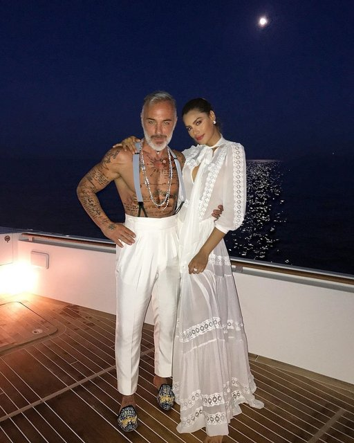 Ариадна Гутьеррес и Джанлука Вакки - фото - фото 86334