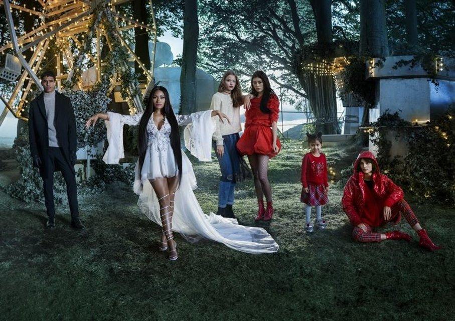 Ники Минаж стала лицом рождественской кампании H&M - фото 89011