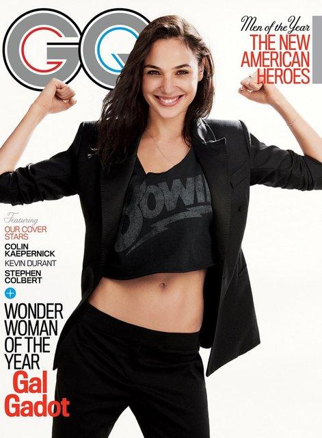 Галь Гадот снялась в пикантной фотосессии для мужского журнала - фото 92500