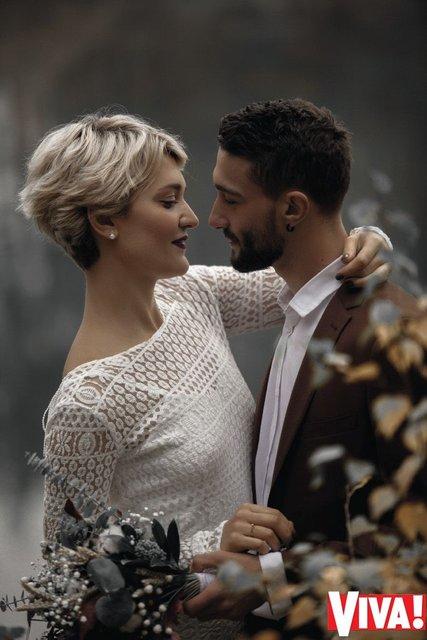 В сети появились свадебные снимки участников 'Голоса країни' Веры Кекелии и Романа Дуды - фото 94009