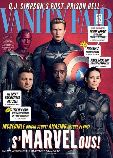 Юбилей киновселенной: Герои Marvel появились на обложках Vanity Fair - фото 93591