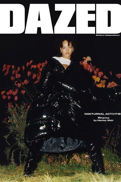 Рианна в странном образе снялась для 4 обложек модного глянца - фото 92263