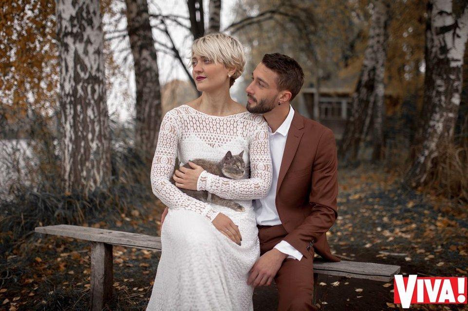 В сети появились свадебные снимки участников 'Голоса країни' Веры Кекелии и Романа Дуды - фото 94012
