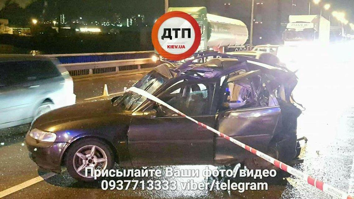 Авария на Южном мосту 27 ноября - фото 92807