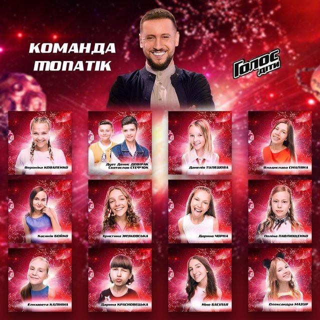 'Голос Діти 2017': Кто попал в команды звездных тренеров - фото 92860