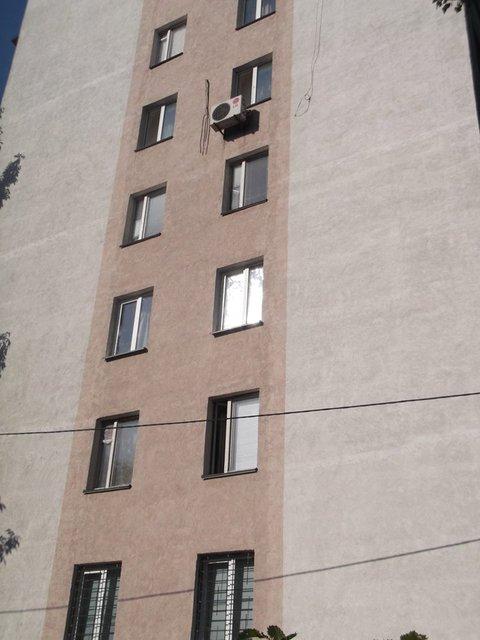 Фасад дома до падения утеплителя - фото 93017