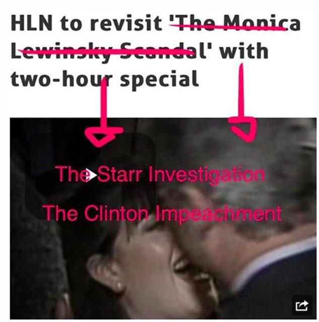 Монику Левински возмутил фильм о романе с Биллом Клинтоном - фото 93864