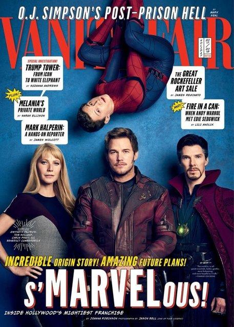 Юбилей киновселенной: Герои Marvel появились на обложках Vanity Fair - фото 93599