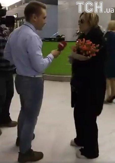 Патрисия Каас прилетела в Киев и прокомментировала секс-скандалы в Голливуде - фото 90155