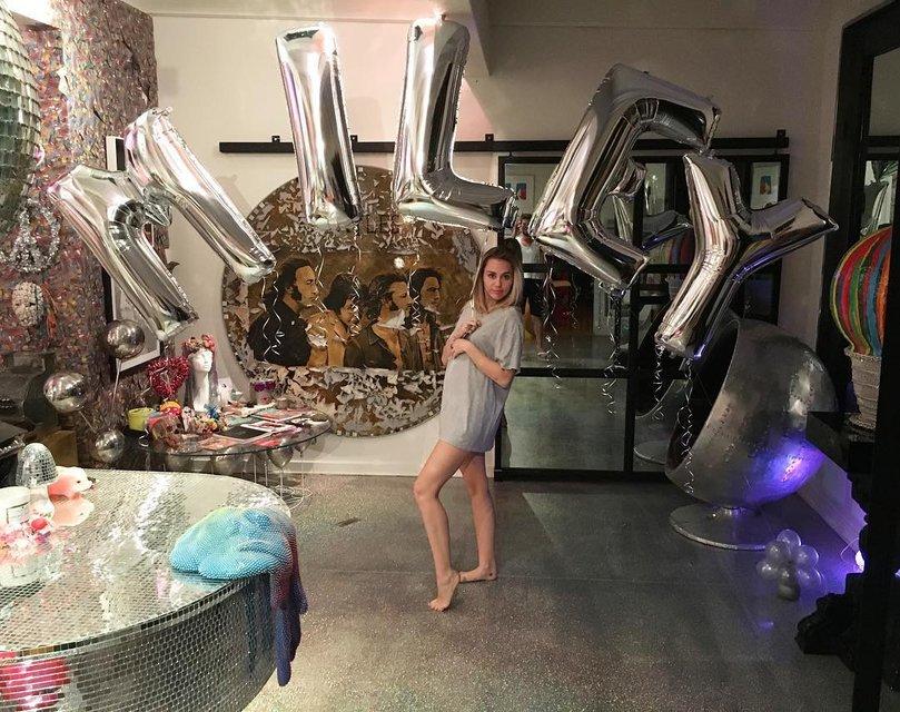 Майли Сайрус впервые прокомментировала беременность - фото 93208