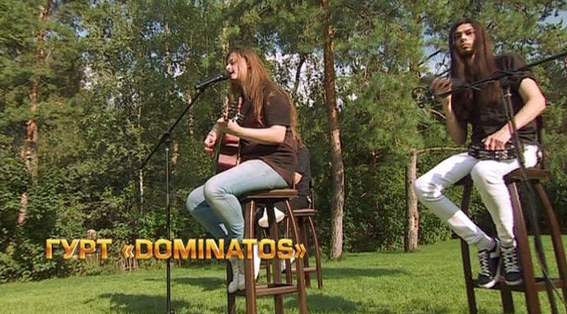 Х-фактор 8 сезон 10 выпуск Dominatos - фото 87672