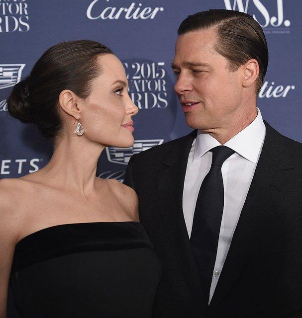 Анджелина Джоли хочет помириться с Брэдом Питтом - фото 93852