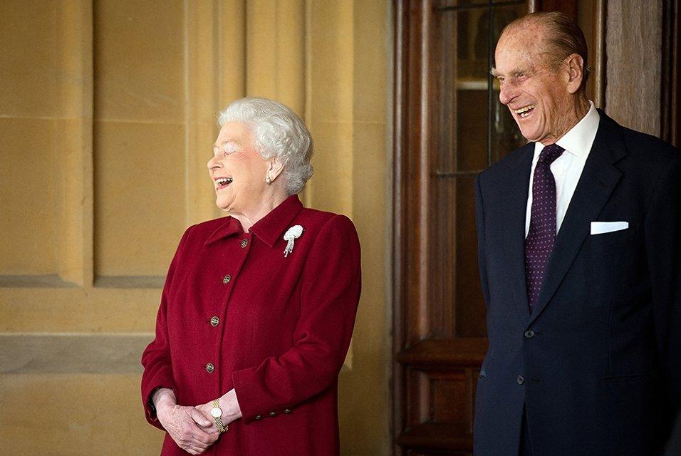 Елизаветы ІІ и принц Филипп - фото 91338
