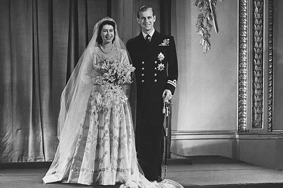 Молодые Елизаветы ІІ и принц Филипп  - фото 91339