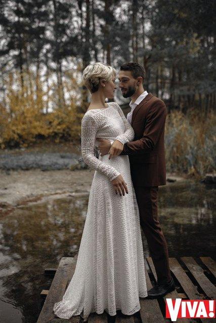 В сети появились свадебные снимки участников 'Голоса країни' Веры Кекелии и Романа Дуды - фото 94008