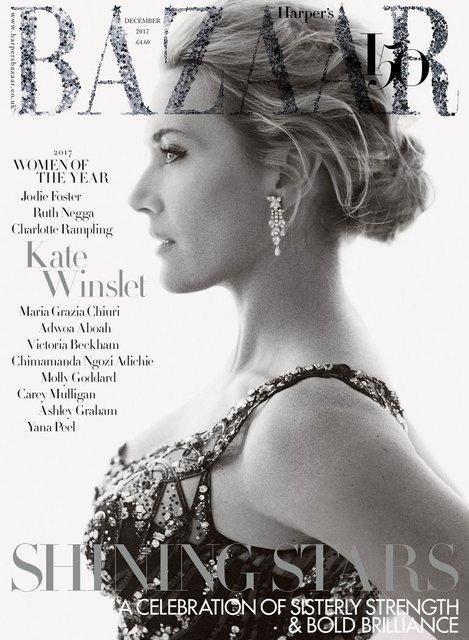Кейт Уинслет для Harper's Bazaar - фото 88162