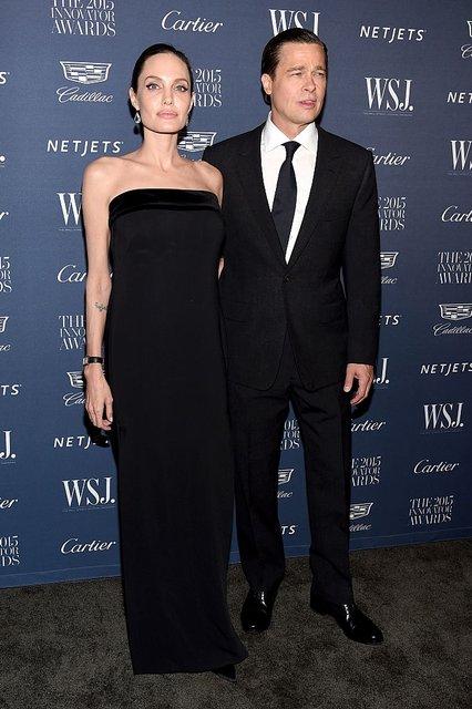 Анджелина Джоли хочет помириться с Брэдом Питтом - фото 93855