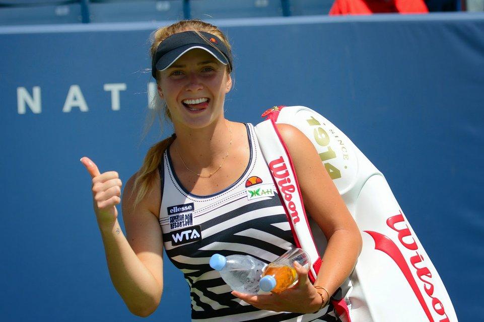 Катя Осадчая взяла уроки тенниса у первой ракетки Украины - фото 88643