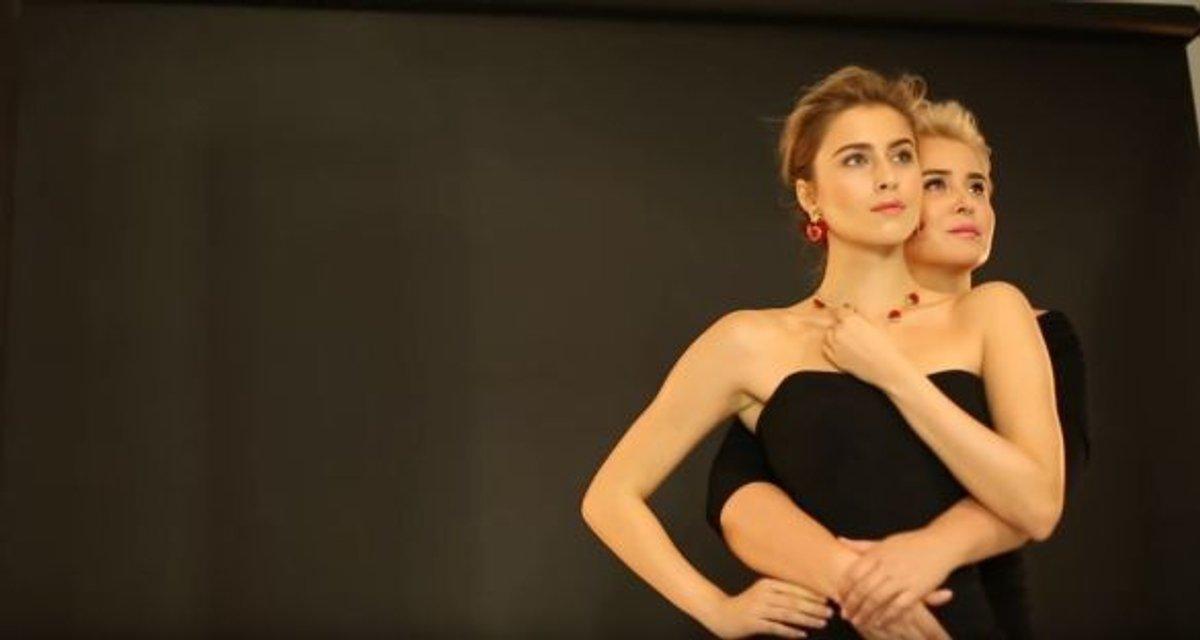 Появилось видео, как снимали обложку ELLE с Софией Ротару и ее семьей - фото 93445