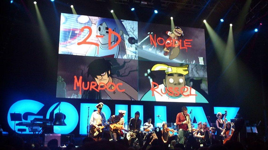 Gorillaz впервые приезжают с концертом в Киев - фото 93269